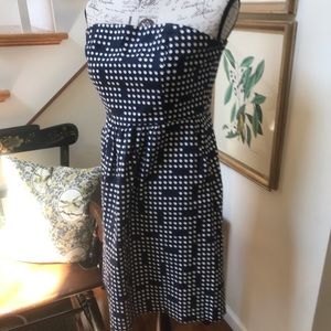 GAP poLkA DoT Strapless Dress 8